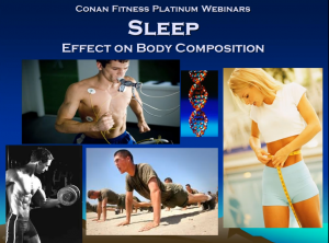 Sleep And Its Effects on Body Composition Webinar