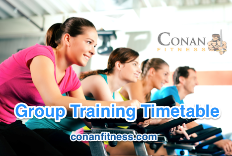 Conan's Group Fitness Timetable