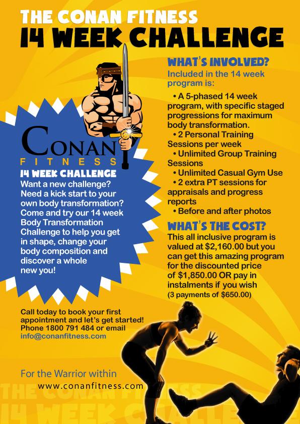 14 week transformation challenge