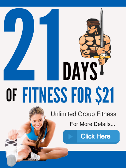21 DAYS OF FITNESS
