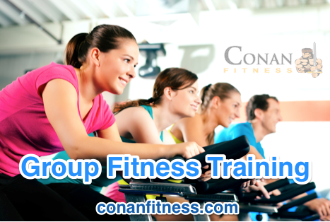 Group Fitness Training At Conan Fitness