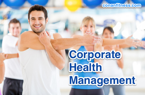 corporate health management programs at conan fitness