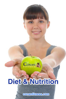 Diet and nutrition advice at Conan Fitness