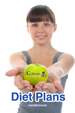 Diet Plans at Conan Fitness