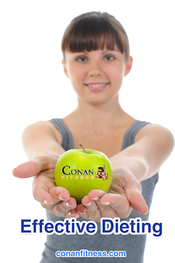 safe and effective dieting - conan fitness