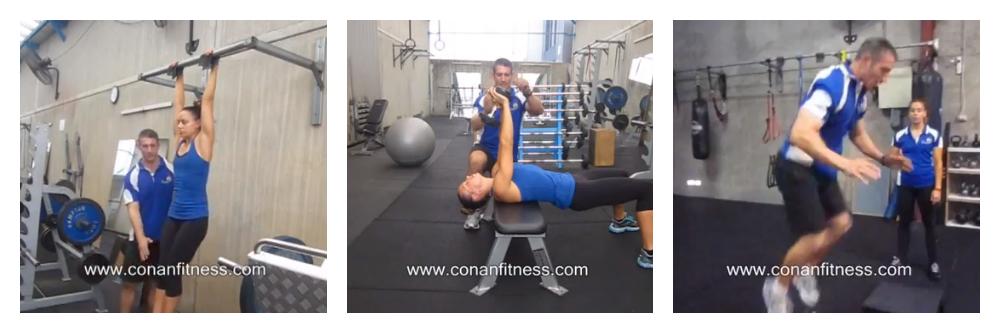 Conan Fitness Weight Training