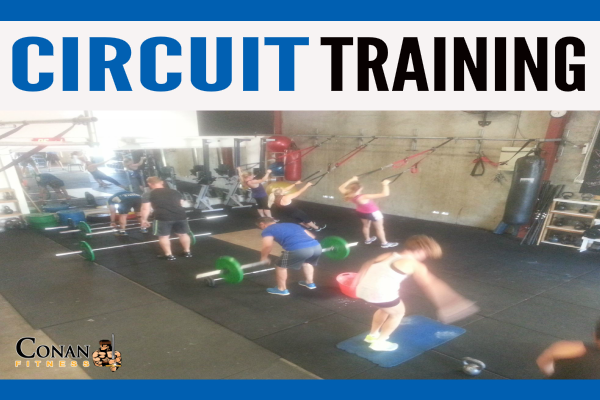 Circuit Training at Conan Fitness