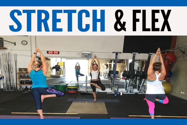 Stretching and Flexability Fitness class