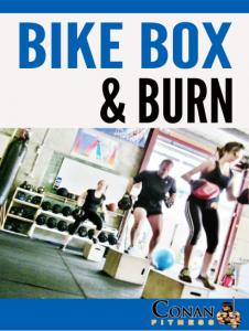 Bike Box and Burn Group Fitness Class