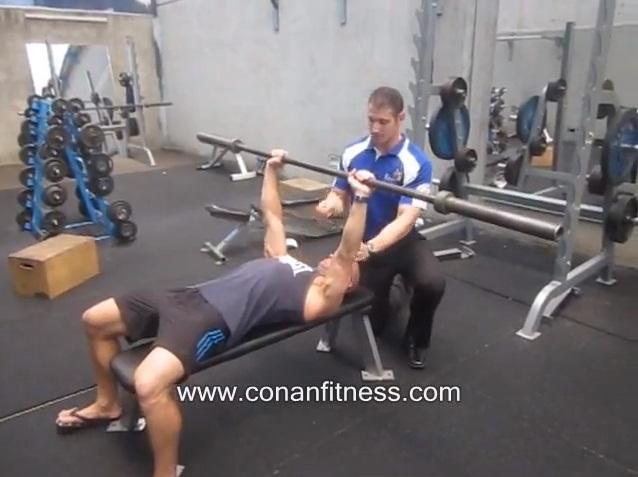 Conan Fitness Personal Training Perth - Bench Press