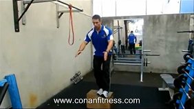 1 leg squat - personal training perth