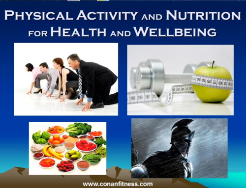 Physical Activity and Nutrition for Health and Wellbeing