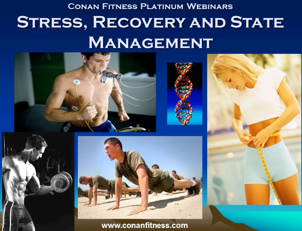 Stress, Recovery and State Management Webinar