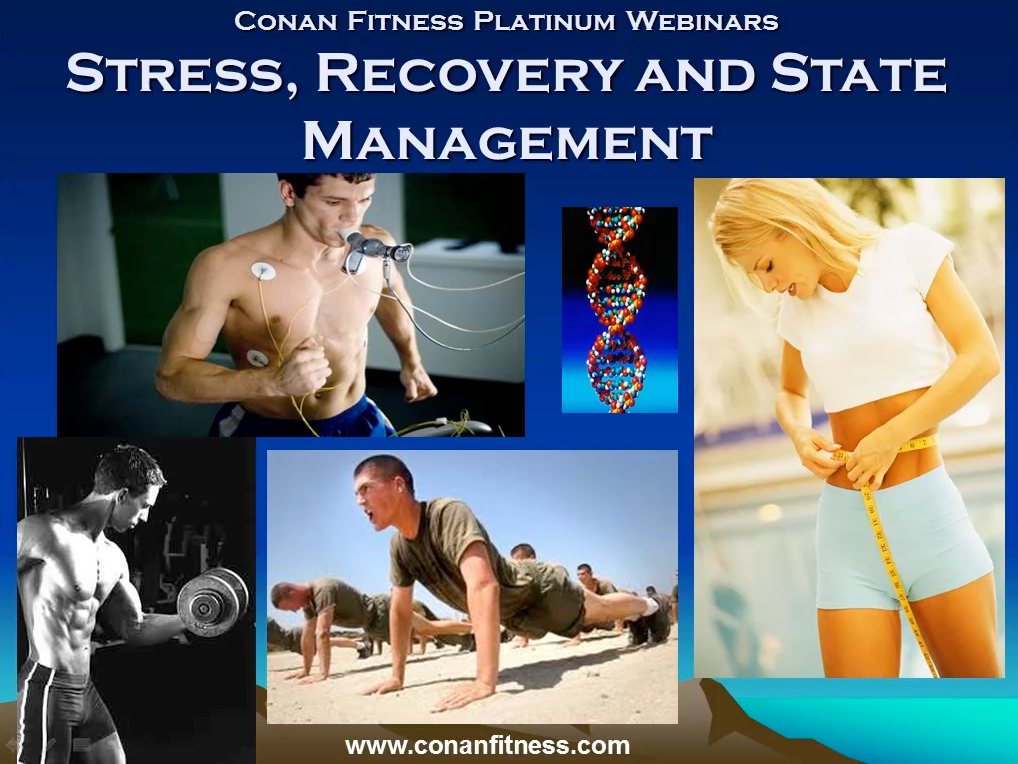 stress, recovery and state management