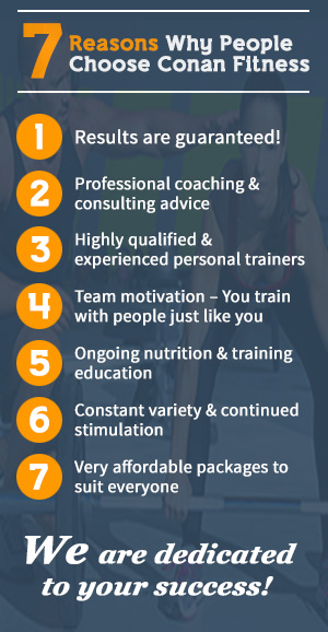 7 reasons why people choose conan fitness