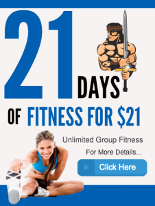21 Days of Fitness Offer