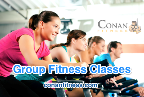 Group Fitness Classes AT Conan