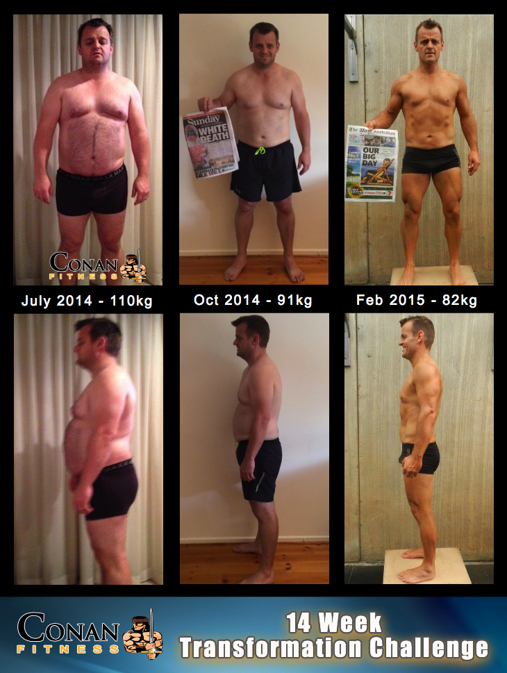 14 Week Transformation Challenge - Matt Evans