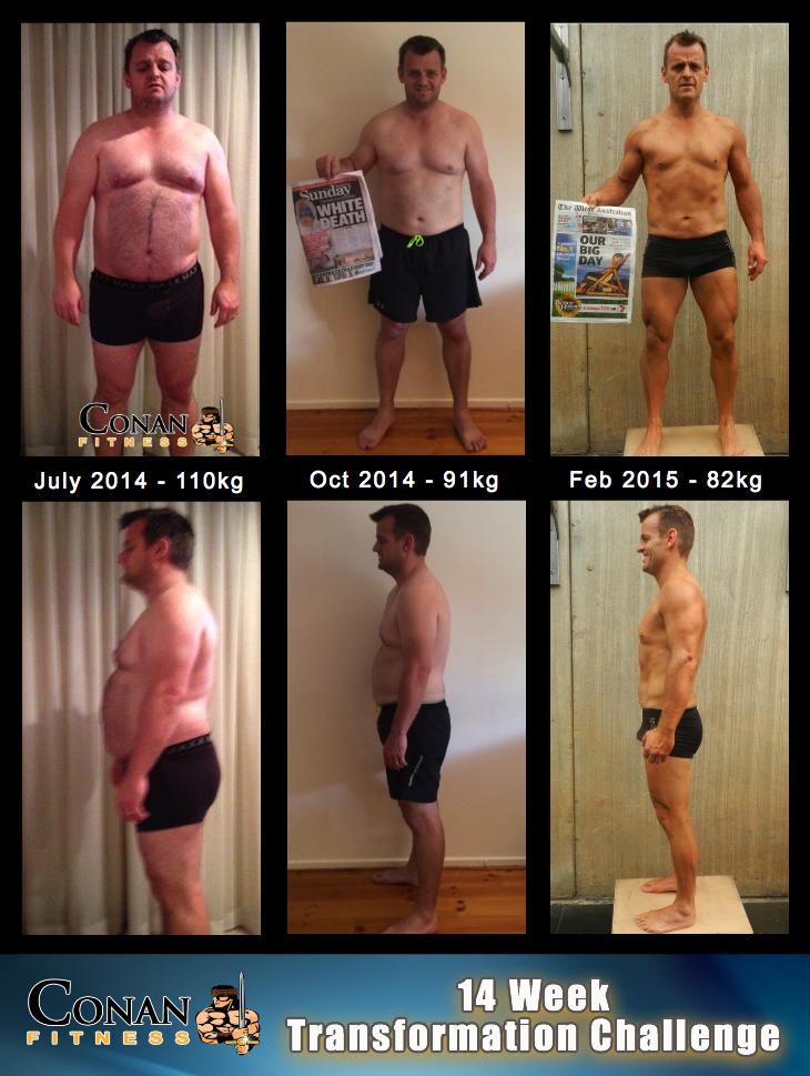 14 Week Transformation Challenge - Matt Evans