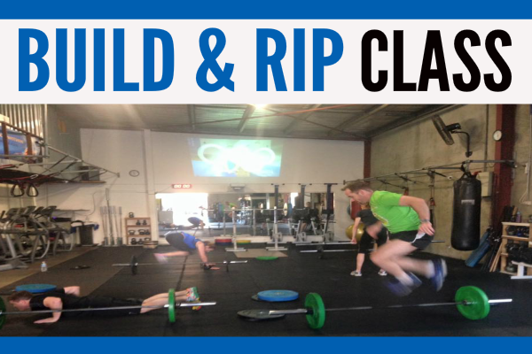 Build and Rip Fitness Class
