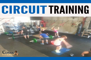 Circuit Training at Conan Fitness