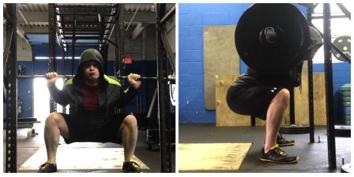 poor squat technique