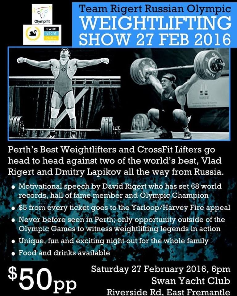 weighlifting show