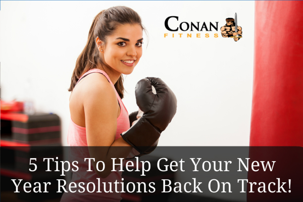 5 tips to get your news years resolution back on track