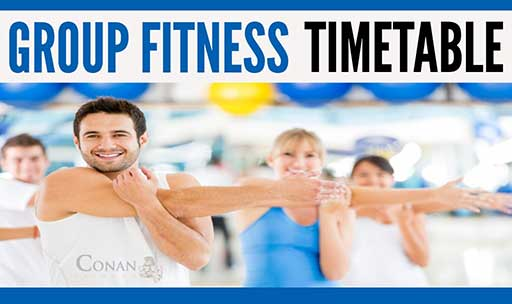 Group Training Classes Timetable